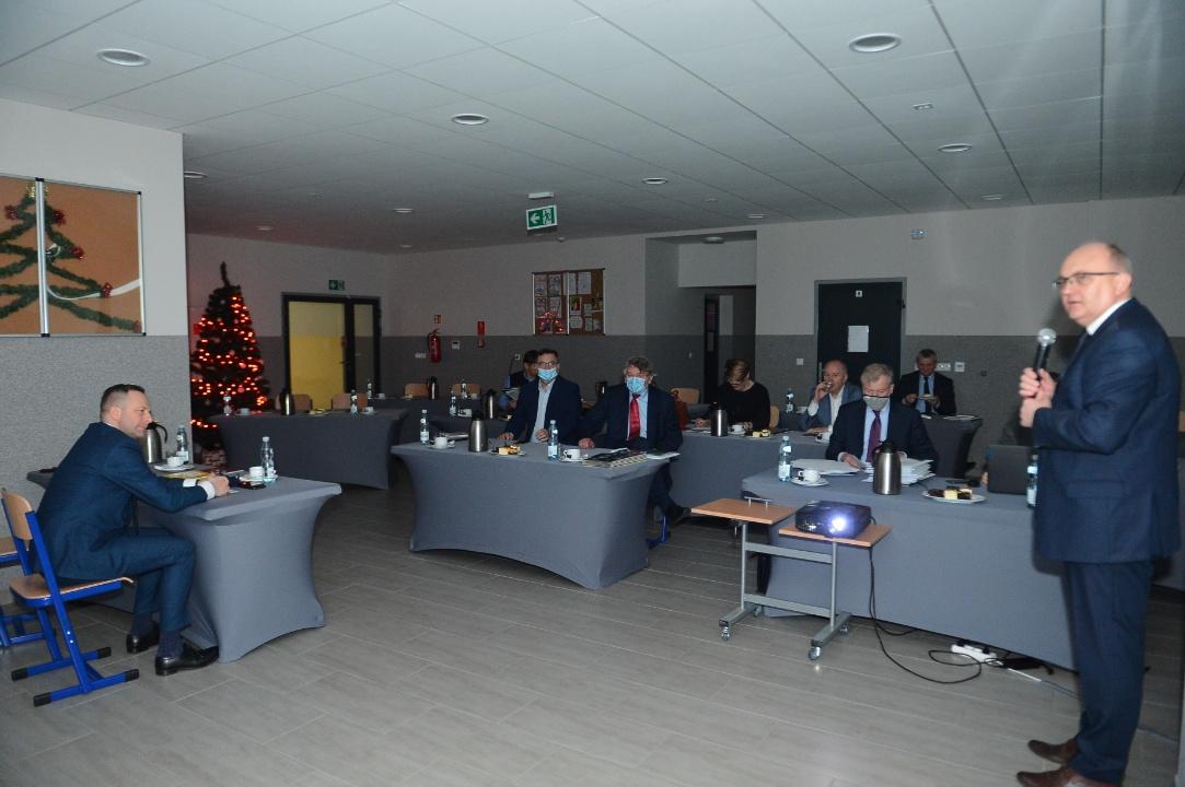 Posiedzenie Zarządu i Komisji Rewizyjnej 21.12.20r.